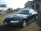 1999 Dark Green Satin Metallic Ford Mustang V6 Coupe #17200426