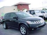 2004 Super Black Nissan Murano SL #17196964