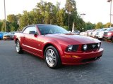 2006 Redfire Metallic Ford Mustang GT Premium Convertible #17191351
