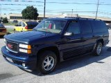 Indigo Blue Metallic GMC Suburban in 1999