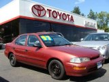 1997 Canyon Red Metallic Geo Prizm  #17191816