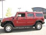 2003 Red Metallic Hummer H2 SUV #17199185