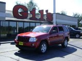 2006 Inferno Red Crystal Pearl Jeep Grand Cherokee Laredo 4x4 #17189397