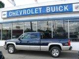 2005 Dark Blue Metallic Chevrolet Silverado 1500 Z71 Extended Cab 4x4 #17189110