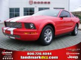 2006 Torch Red Ford Mustang V6 Deluxe Coupe #17191186