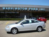 2007 Ultra Silver Metallic Chevrolet Cobalt LS Coupe #17195423