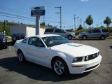 2007 Performance White Ford Mustang GT Premium Coupe #17189999