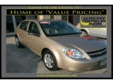 2007 Sandstone Metallic Chevrolet Cobalt LS Sedan #17186584
