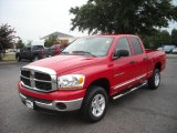 2006 Flame Red Dodge Ram 1500 SLT Quad Cab 4x4 #17200395