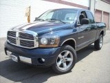 2006 Patriot Blue Pearl Dodge Ram 1500 SLT Quad Cab 4x4 #17200462