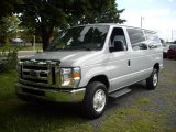 2008 Silver Metallic Ford E Series Van E350 Super Duty XLT Passenger #17192670