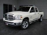2008 Bright White Dodge Ram 1500 Big Horn Edition Quad Cab #17184657