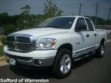 2008 Bright White Dodge Ram 1500 Big Horn Edition Quad Cab 4x4 #17200515
