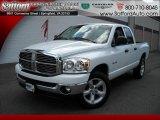 2008 Bright White Dodge Ram 1500 Big Horn Edition Quad Cab 4x4 #17200480
