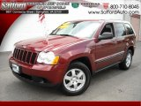 2008 Red Rock Crystal Pearl Jeep Grand Cherokee Laredo 4x4 #17200485