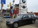 2007 Sparkling Graphite Metallic BMW 3 Series 328xi Wagon #1718649