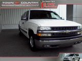 Summit White Chevrolet Silverado 1500 in 2002