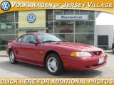 1995 Laser Red Metallic Ford Mustang V6 Coupe #17261746