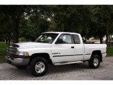 2001 Bright White Dodge Ram 1500 SLT Club Cab 4x4 #17261641