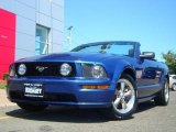 2006 Vista Blue Metallic Ford Mustang GT Deluxe Convertible #17263916