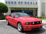 2006 Torch Red Ford Mustang GT Premium Convertible #17257563