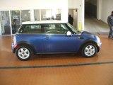 2007 Lightning Blue Metallic Mini Cooper Hardtop #1718605