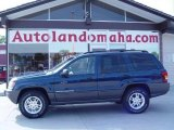 2002 Patriot Blue Pearlcoat Jeep Grand Cherokee Laredo 4x4 #17263037