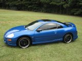 2003 Flash Blue Pearl Mitsubishi Eclipse GTS Coupe #17262143