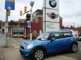 2007 Laser Blue Metallic Mini Cooper S Hardtop #1718604