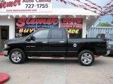 2005 Black Dodge Ram 1500 SLT Quad Cab 4x4 #17263216