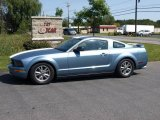 2005 Windveil Blue Metallic Ford Mustang V6 Premium Coupe #17263725