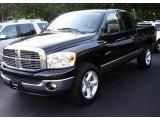 2008 Brilliant Black Crystal Pearl Dodge Ram 1500 Big Horn Edition Quad Cab 4x4 #17250231