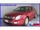 2008 Redfire Metallic Ford Fusion SEL V6 #17268407