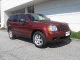 2008 Red Rock Crystal Pearl Jeep Grand Cherokee Laredo 4x4 #17264096