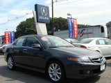 2008 Carbon Gray Pearl Acura TSX Sedan #17317441