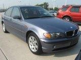 2002 Steel Blue Metallic BMW 3 Series 325i Sedan #17329068