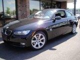 2009 Jet Black BMW 3 Series 328xi Coupe #17320558