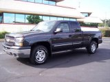 2004 Dark Gray Metallic Chevrolet Silverado 1500 Z71 Extended Cab 4x4 #17326482