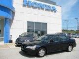 2002 Nighthawk Black Pearl Honda Accord EX V6 Sedan #17314629