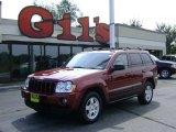 2006 Red Rock Crystal Pearl Jeep Grand Cherokee Laredo 4x4 #17321017