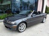 2006 Sparkling Graphite Metallic BMW 3 Series 330i Convertible #17319465