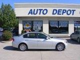 2007 Titanium Silver Metallic BMW 3 Series 328i Sedan #17320595
