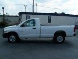 2008 Bright White Dodge Ram 1500 ST Regular Cab #17328233