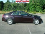 2009 Black Cherry Cadillac CTS Sedan #17331108