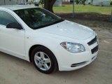 2008 White Chevrolet Malibu LS Sedan #17327346