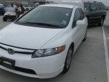 2007 Taffeta White Honda Civic LX Sedan #17329079