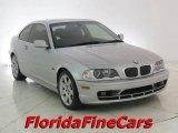 2003 Titanium Silver Metallic BMW 3 Series 325i Coupe #17404318