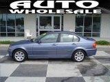 2004 Steel Blue Metallic BMW 3 Series 325i Sedan #17411920