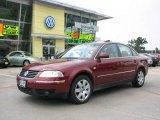 2003 Volkswagen Passat Colorado Red Pearl
