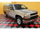 2002 Light Pewter Metallic Chevrolet Silverado 1500 LS Regular Cab 4x4 #17413054